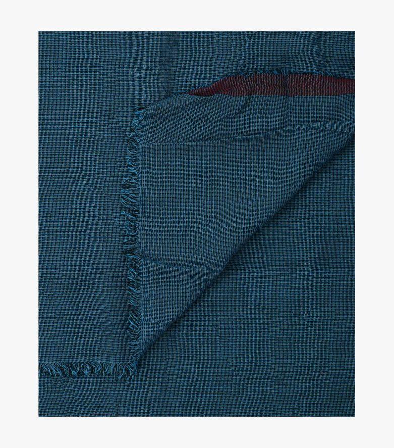 Schal in sattes Mittelblau - CASAMODA