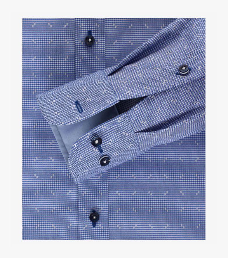 Businesshemd in Aquadunkelblau Modern Fit - CASAMODA