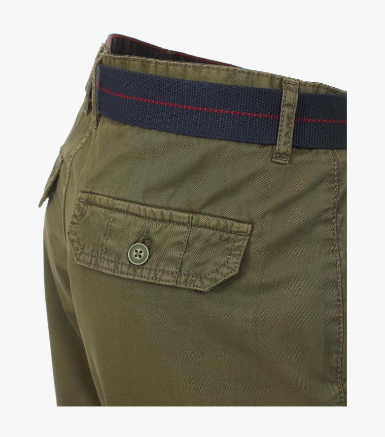 Cargo Shorts in Olive - CASAMODA
