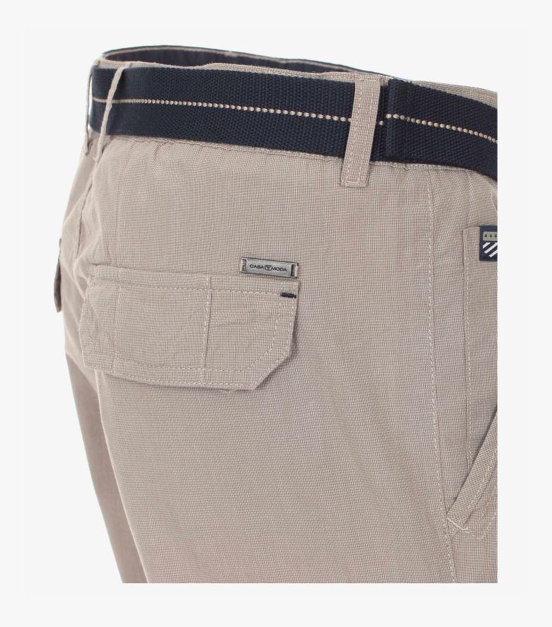 Cargo Shorts in Weißbeige - CASAMODA