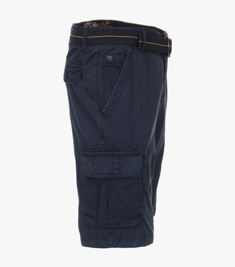 Shorts in Dunkelblau - CASAMODA