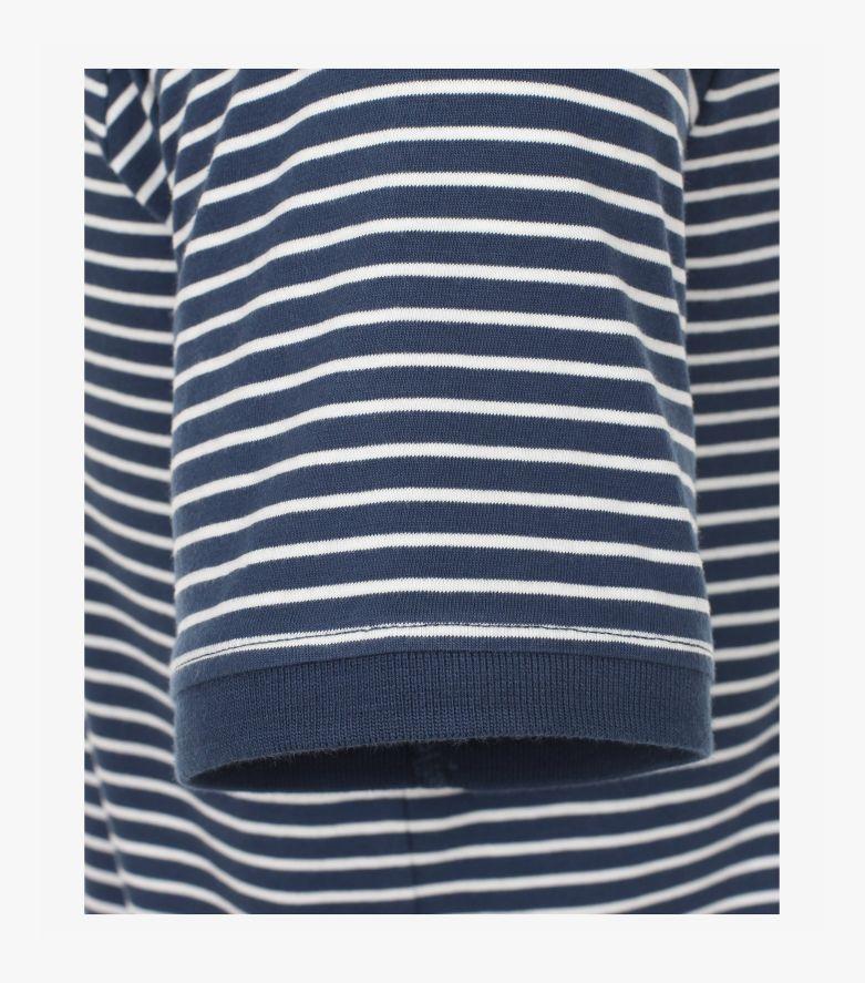 """Polo-Shirt """"Green""""-Kollektion in graues Dunkelblau - CASAMODA"""