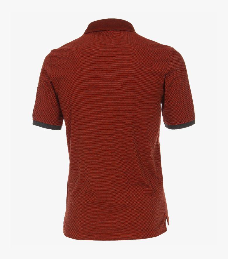 Polo-Shirt in Dunkelorange - CASAMODA