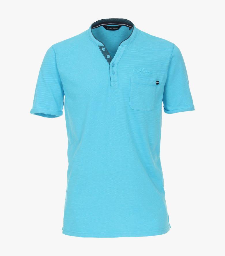T-Shirt in Türkisblau - CASAMODA