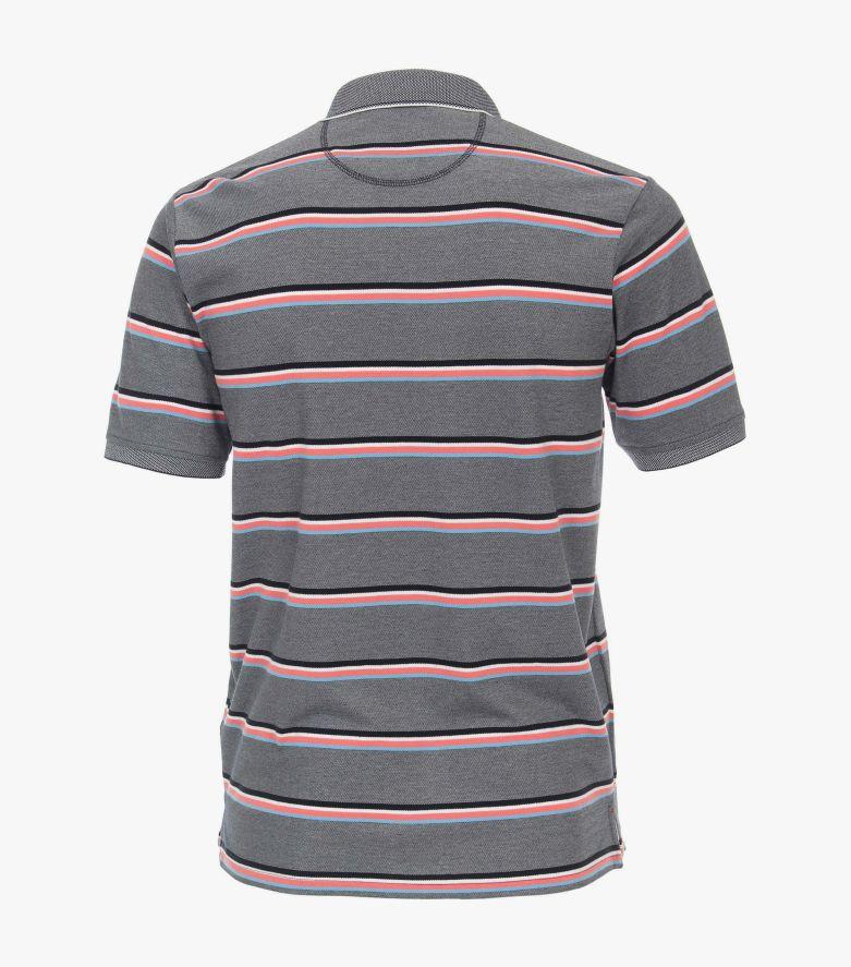 Polo-Shirt in Weißblau - CASAMODA