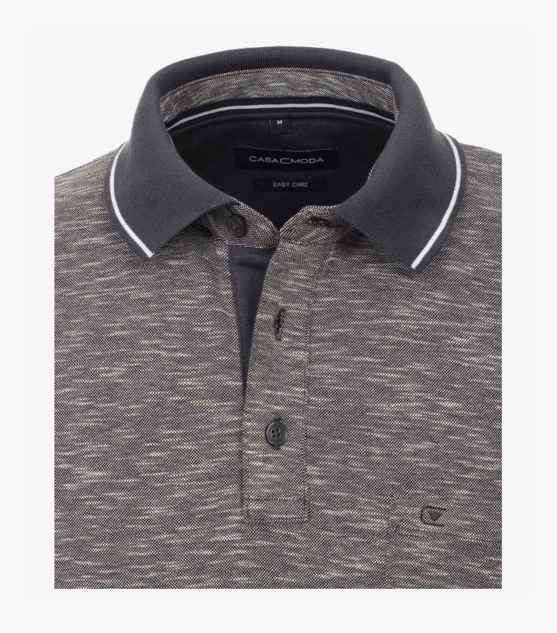 Polo-Shirt in Weißgrau - CASAMODA