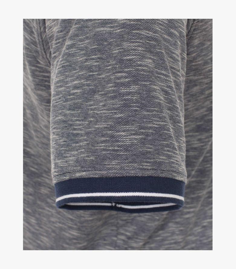 Polo-Shirt in graues Mittelblau - CASAMODA