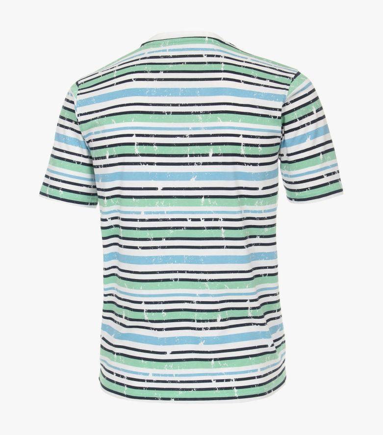 T-Shirt in helles Himmelblau - CASAMODA