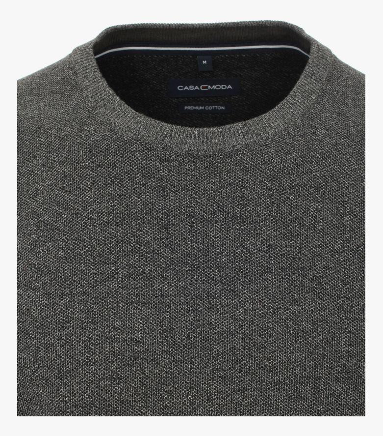 Pullover in Dunkelgrau - CASAMODA