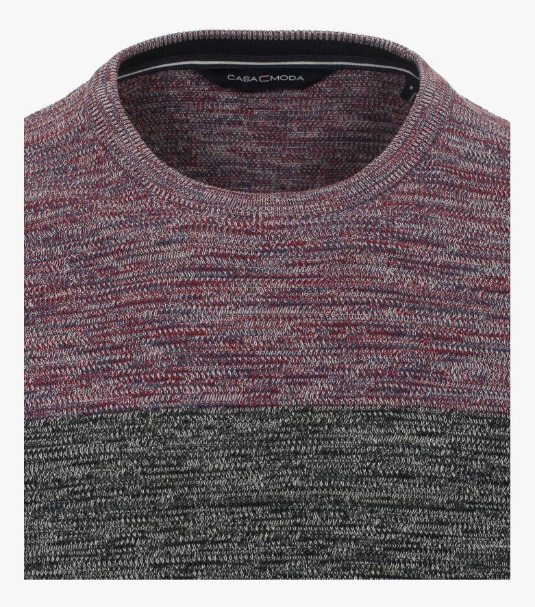 Pullover in Dunkelrot - CASAMODA