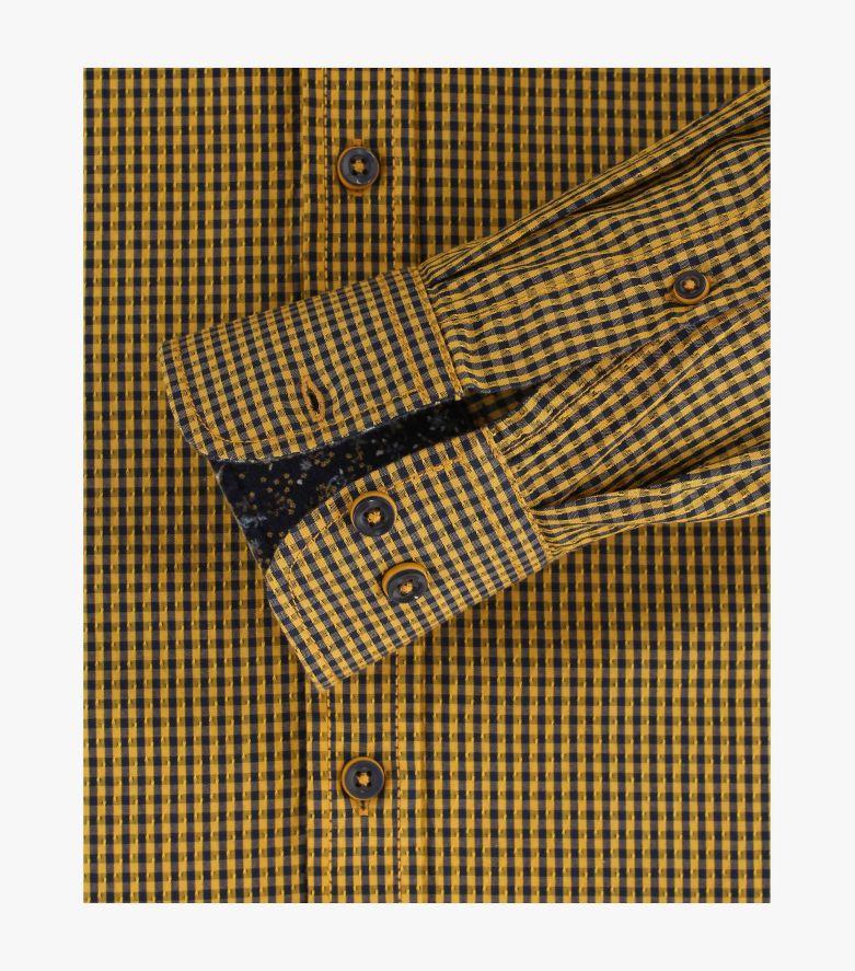 Freizeithemd in Gelb Casual Fit - CASAMODA