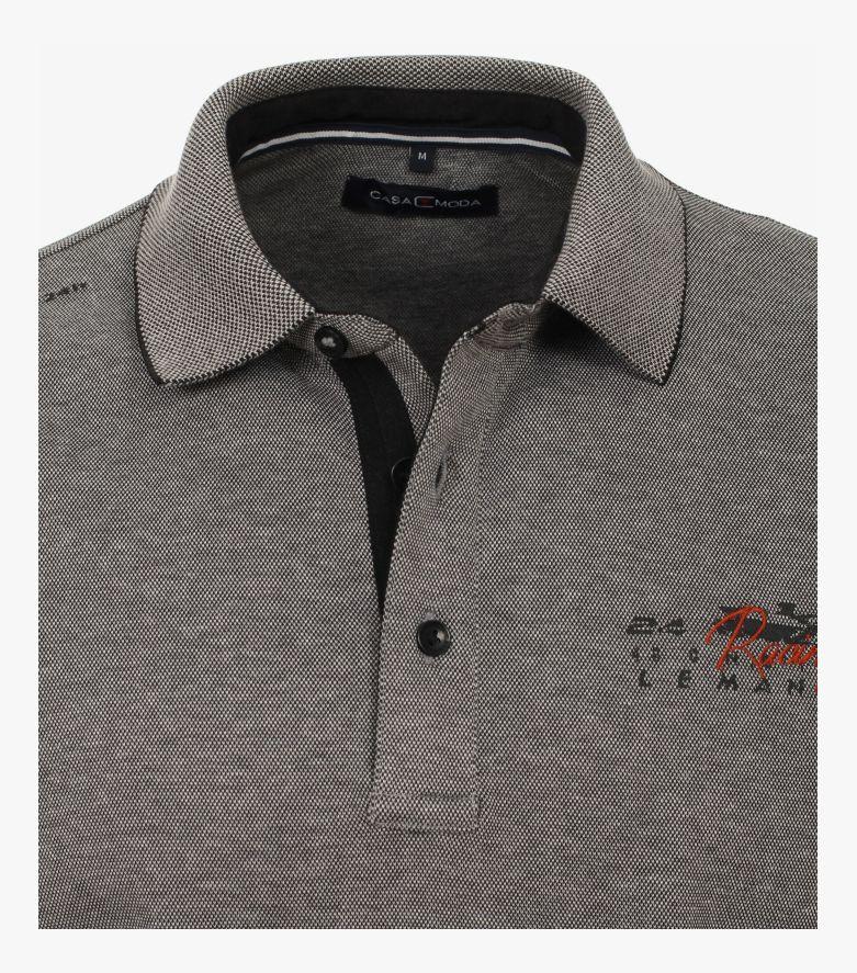 """Polo-Shirt """"Racing""""-Kollektion in Dunkelgrau - CASAMODA"""