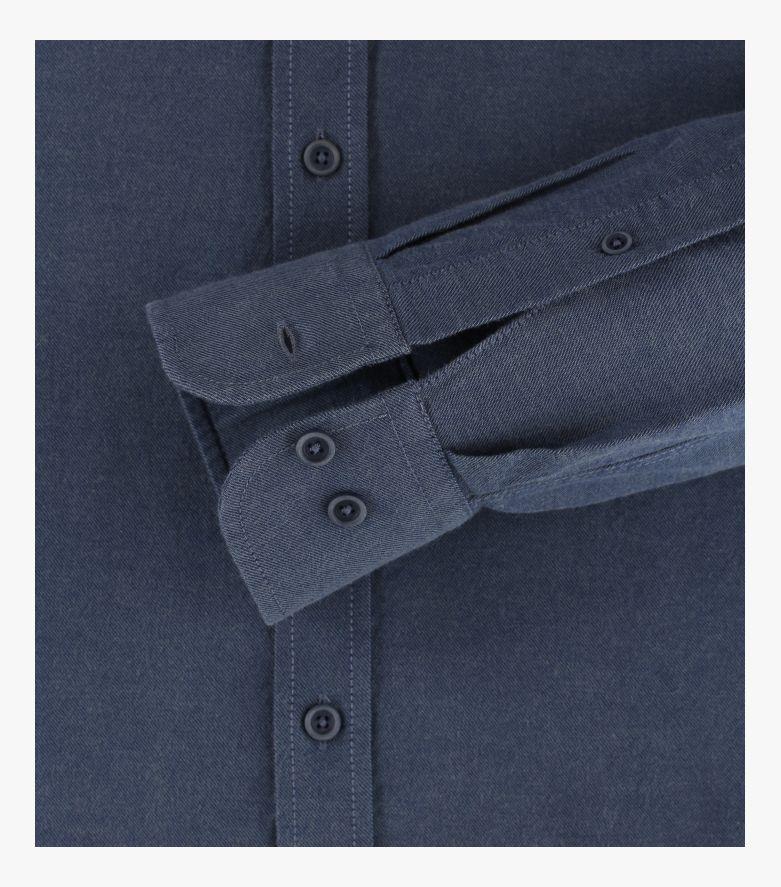 "Freizeithemd ""Green""-Kollektion in graues Dunkelblau Casual Fit - CASAMODA"