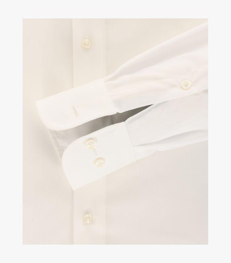 Businesshemd extra lang in Weißbeige Modern Fit - CASAMODA