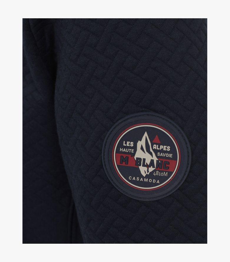 Sweatshirt in Dunkelblau - CASAMODA