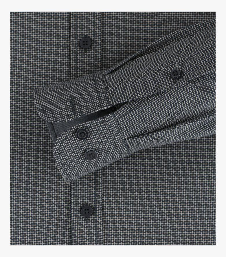 Freizeithemd in Dunkelblau Comfort Fit - CASAMODA