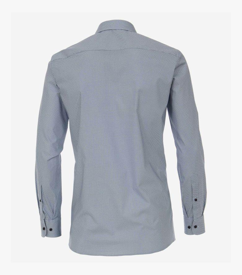 Businesshemd extra langer Arm 72cm in Blau Modern Fit - CASAMODA