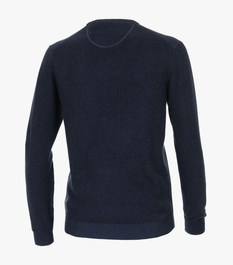 Pullover in mittleres Dunkelblau - CASAMODA