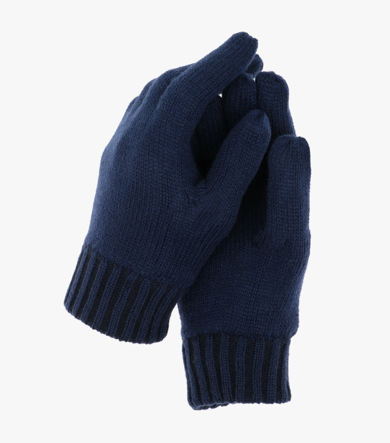 Handschuhe in mittleres Dunkelblau - CASAMODA