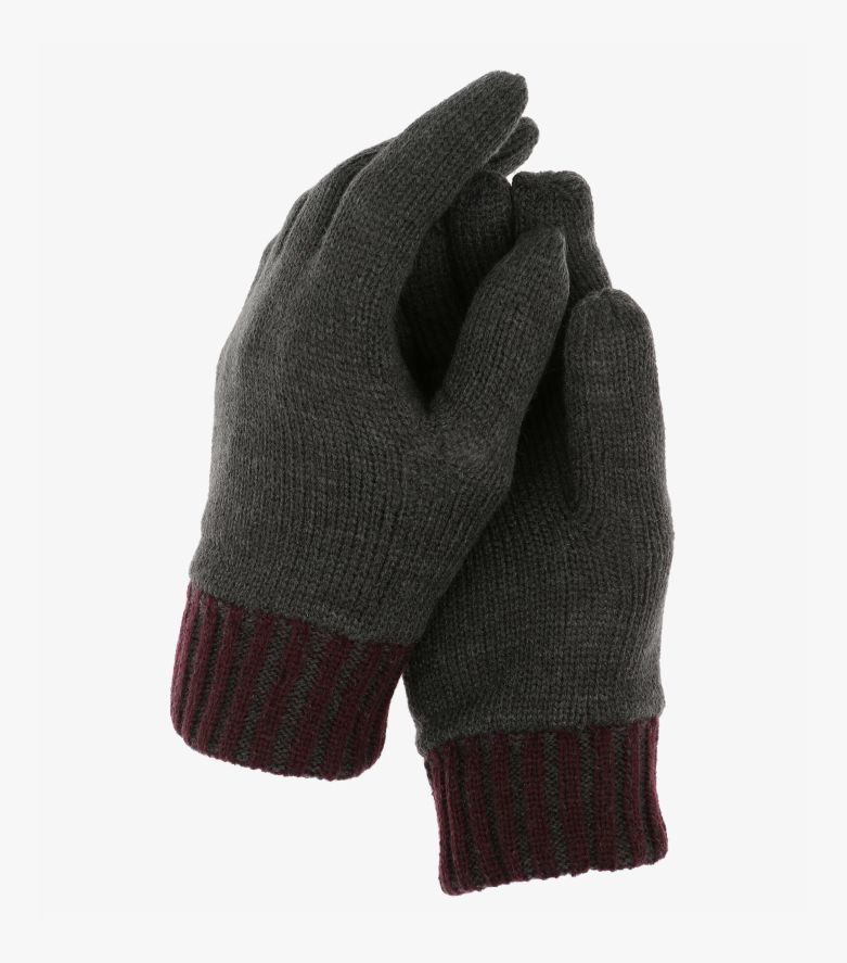 Handschuhe in Dunkelrot - CASAMODA