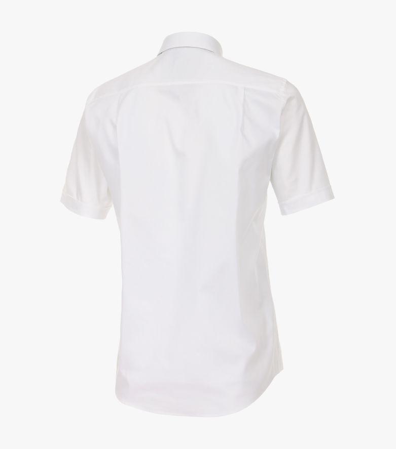 Freizeithemd Kurzarm in Weiß Comfort Fit - CASAMODA