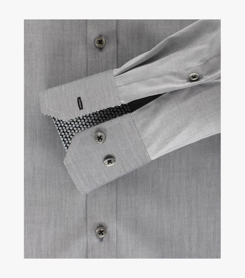 Businesshemd in Grau Slim Fit - VENTI