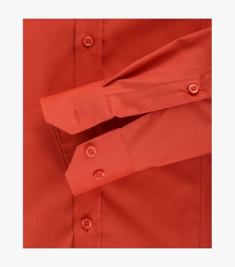 Businesshemd in Orange Body Fit - VENTI