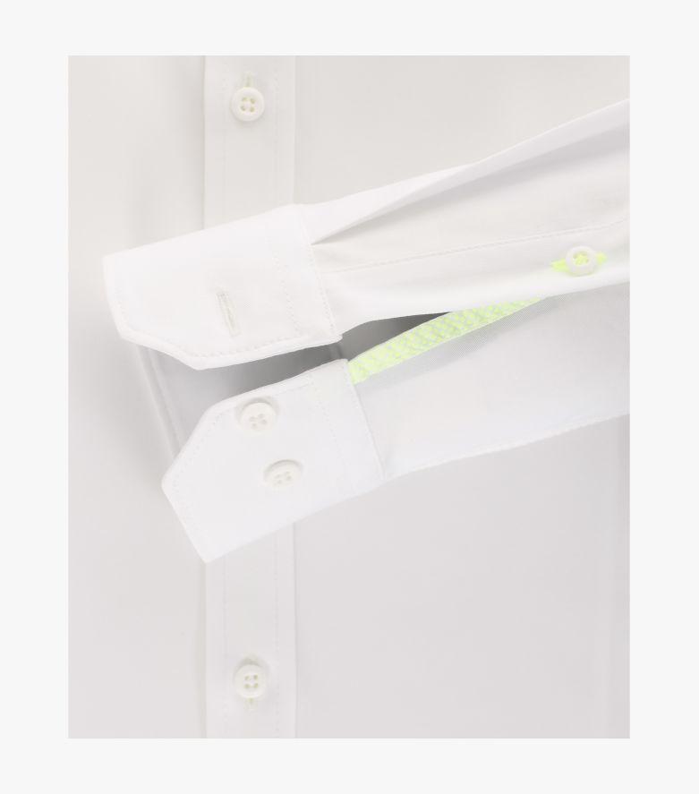 Sneakershirt in Weiß Modern Fit - VENTI