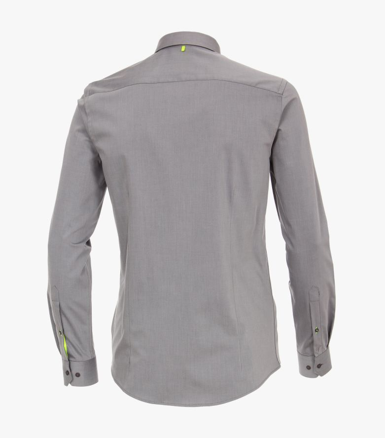 Sneakershirt in Grau Modern Fit - VENTI