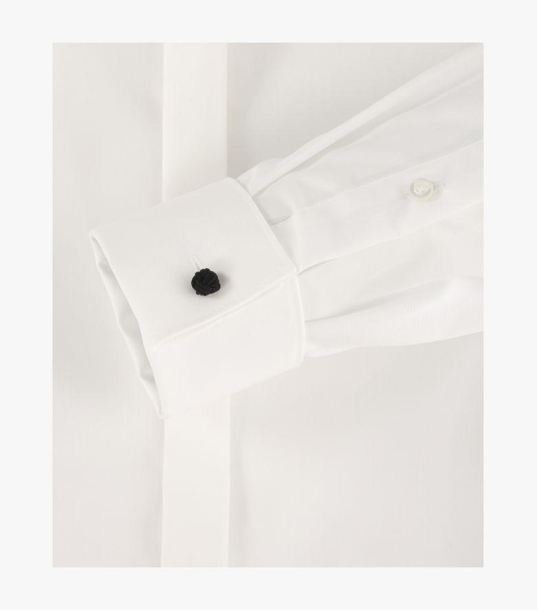 Businesshemd in Weißbeige Modern Fit - VENTI