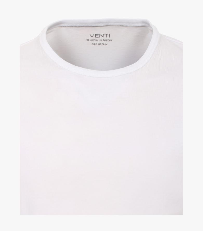 T-Shirt Doppelpack in Weiß - VENTI