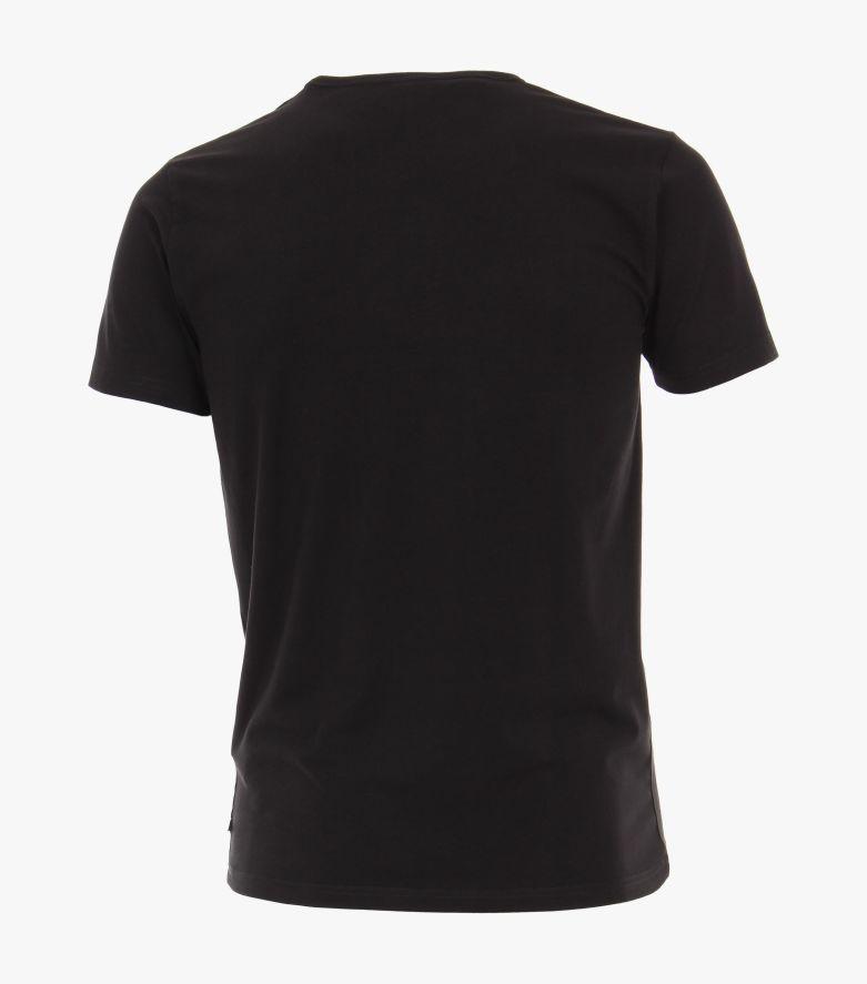 T-Shirt Doppelpack in Schwarz - VENTI