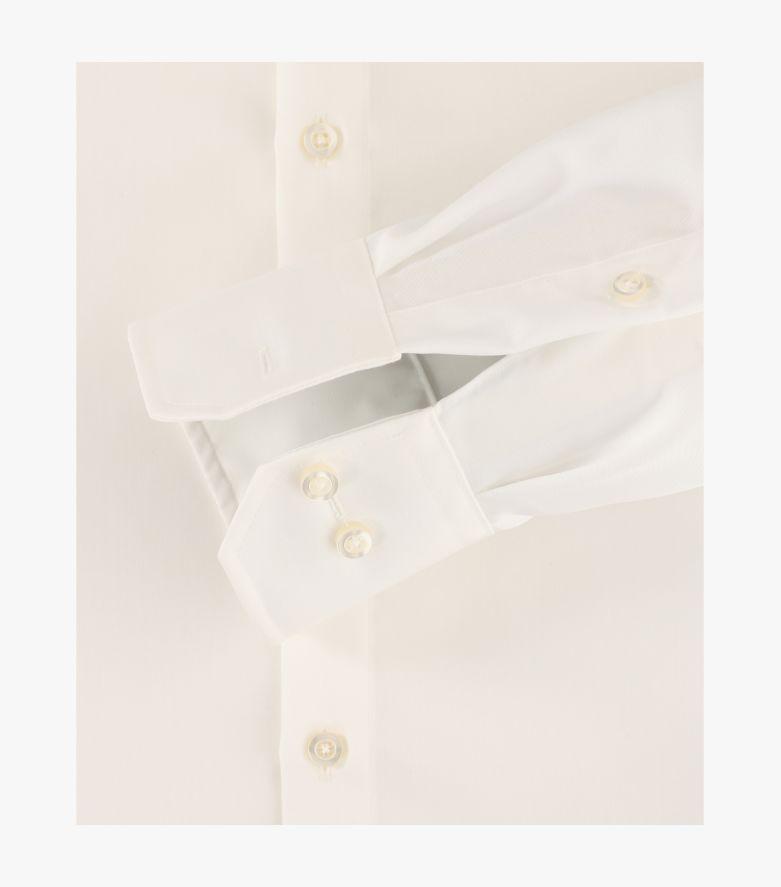 Businesshemd extra langer Arm 72cm in Weißbeige Modern Fit - VENTI