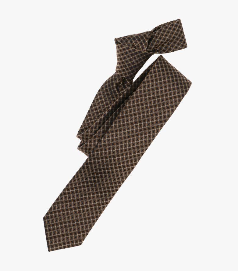 Krawatte in Kastanienbraun - VENTI