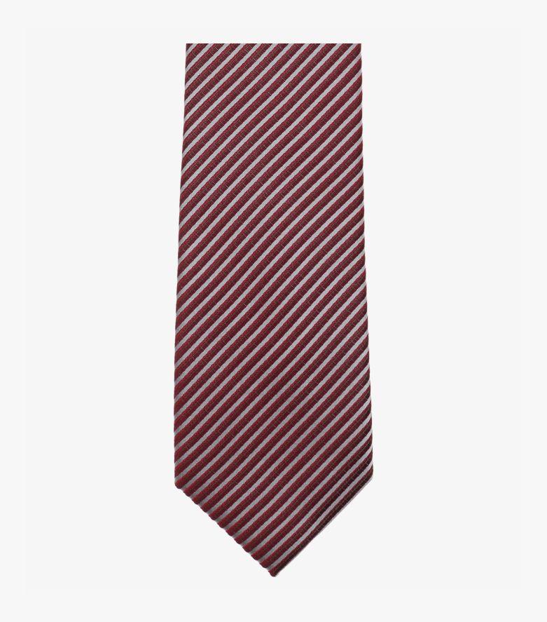 Krawatte in Bordeauxrot - VENTI