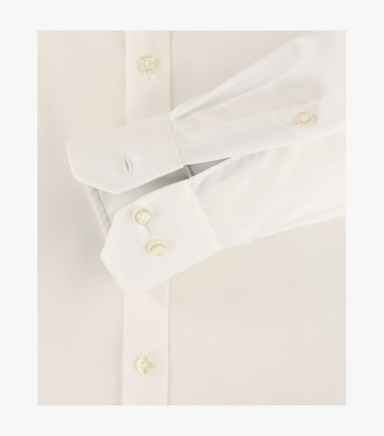 Businesshemd extra langer Arm 69cm in Champagner Body Fit - VENTI