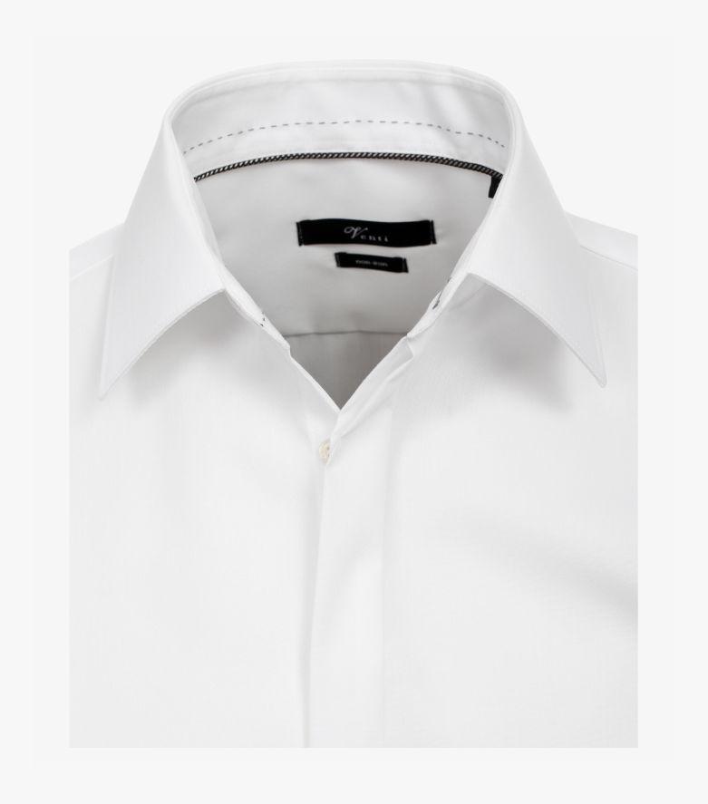 Businesshemd extra langer Arm 72cm in Weiß Modern Fit - VENTI