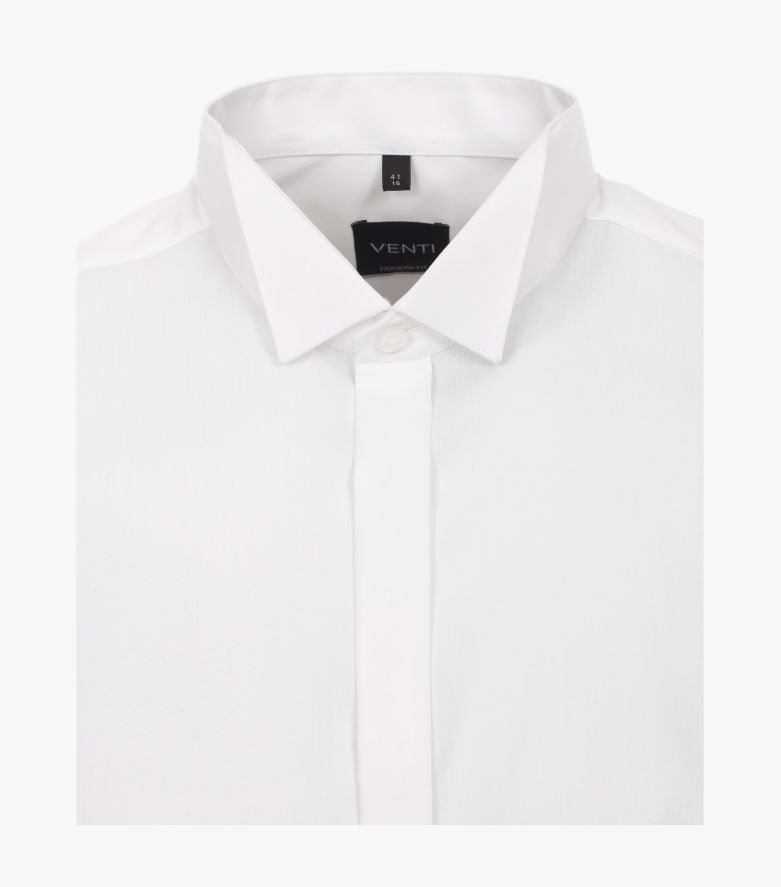 Businesshemd in Weiß Modern Fit - VENTI