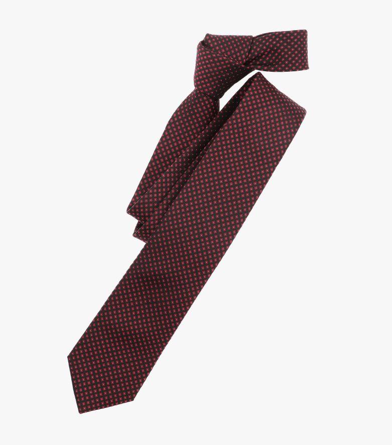 Krawatte in Mittelrot - VENTI