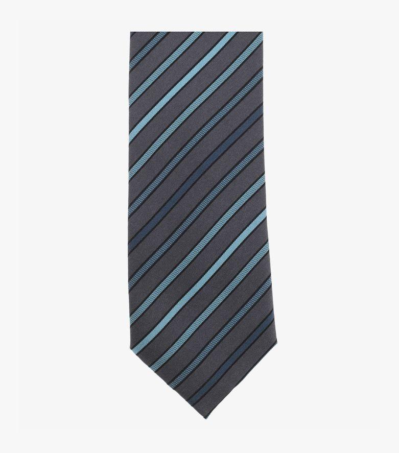 Krawatte in Aquadunkelblau - VENTI