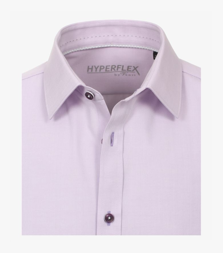 Businesshemd Hyperflex in Helllila Body Fit - VENTI