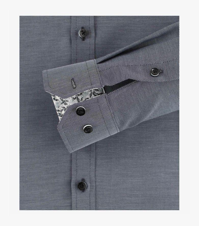 Businesshemd in Grau Body Fit - VENTI