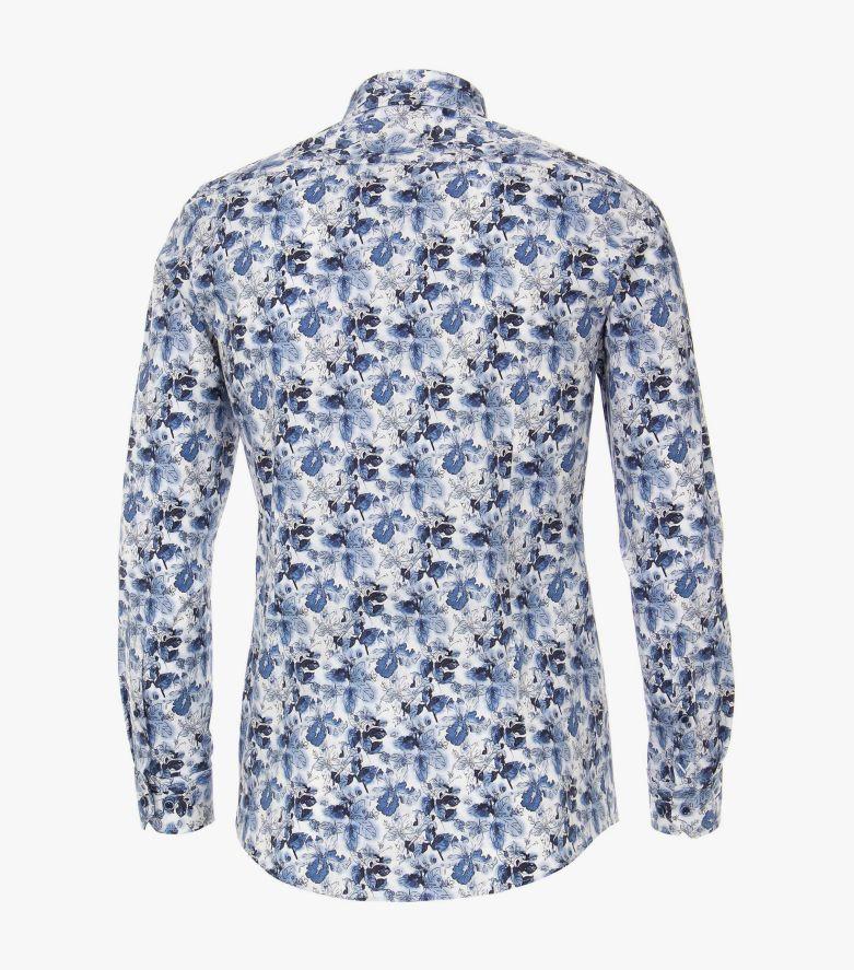 Businesshemd in Blau Body Fit - VENTI