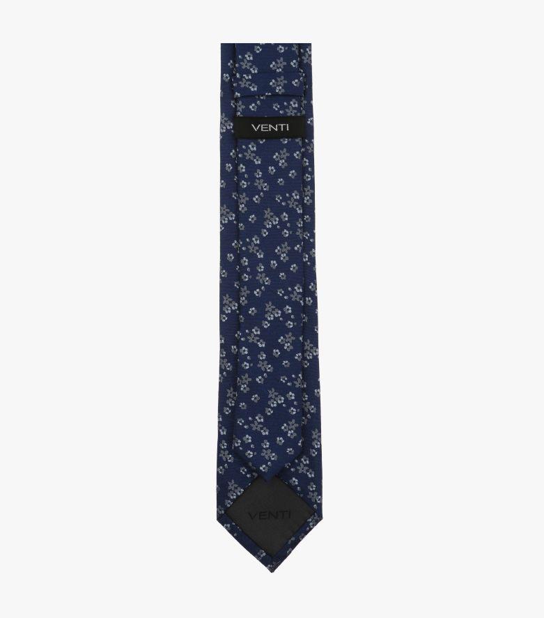 Krawatte in Dunkelblau - VENTI