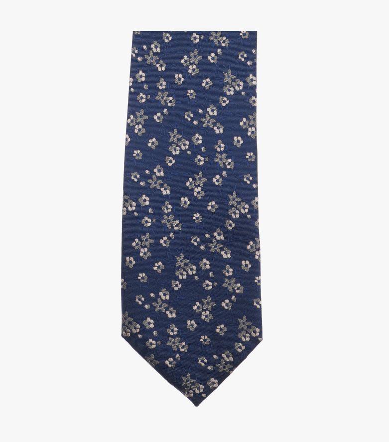 Krawatte in dunkles Mittelblau - VENTI