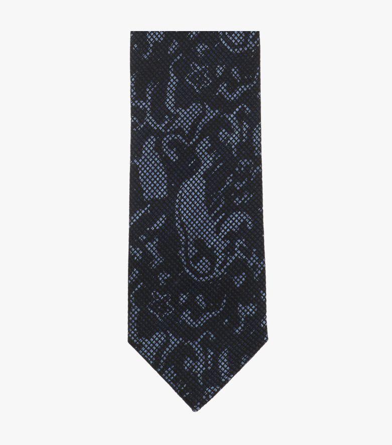 Krawatte in Mittelblau - VENTI