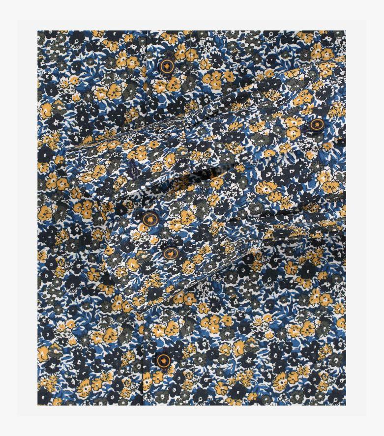 Businesshemd in Blau Modern Fit - VENTI
