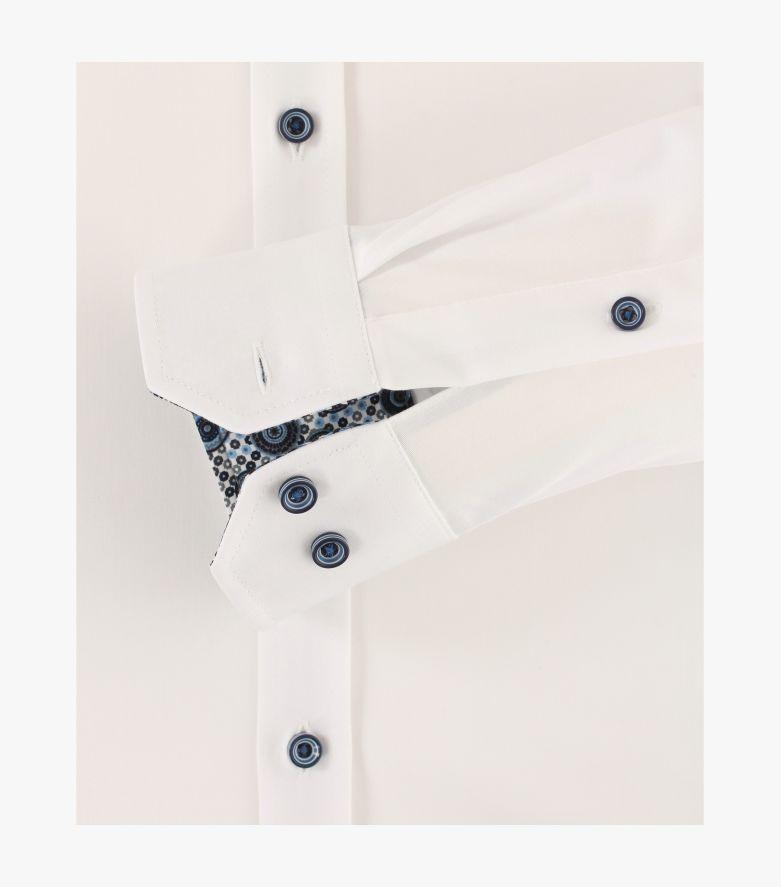 Businesshemd in Weiß Body Fit - VENTI