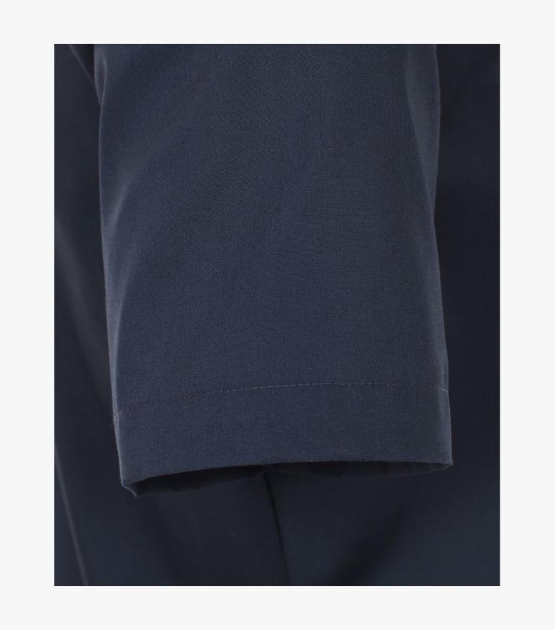 Businesshemd Kurzarm in 116 blau Body Fit - VENTI