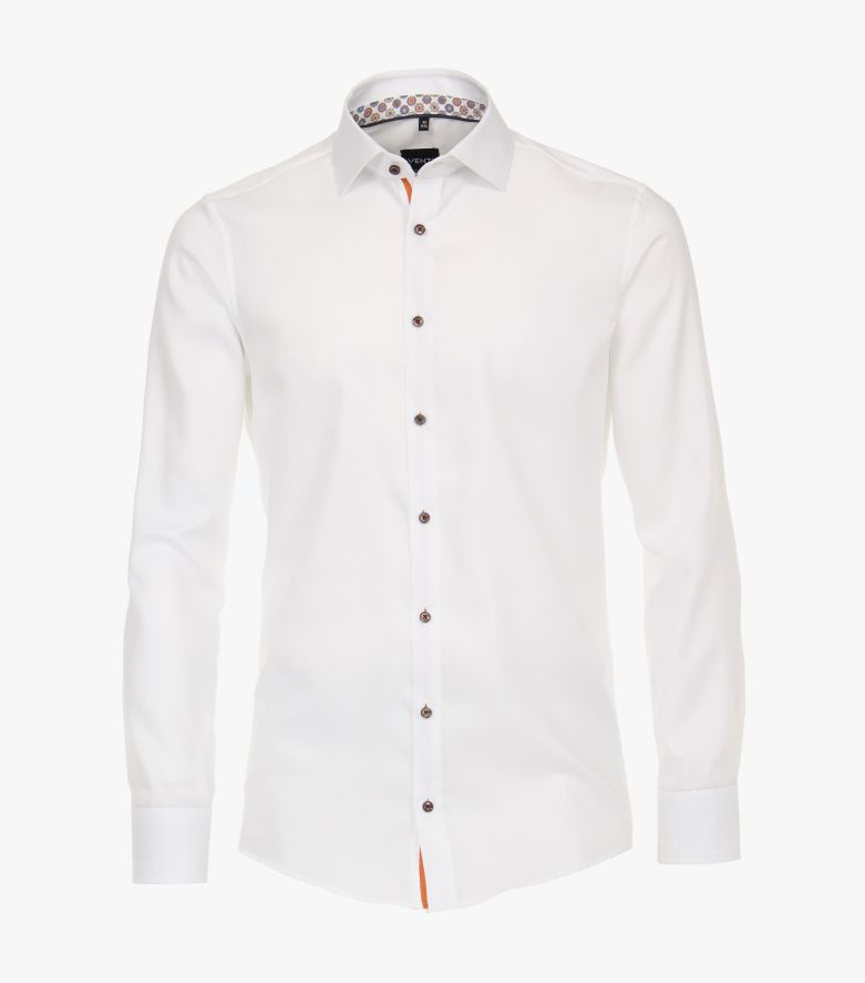 Businesshemd in 000 weiss Modern Fit - VENTI
